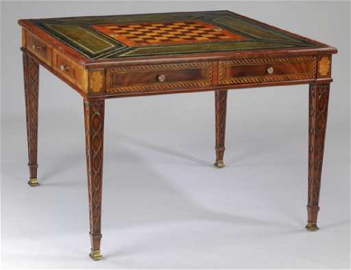 Maitland smith marquetry inlaid game table gumiabroncs Image collections