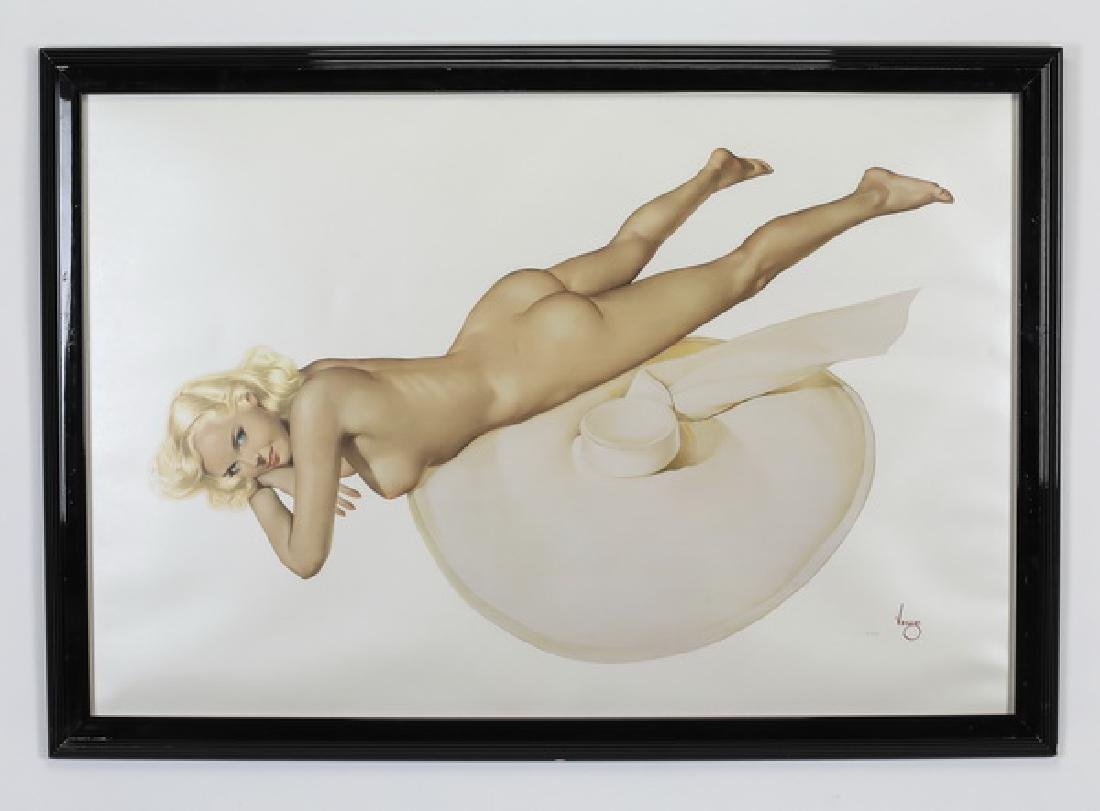 Alberto Vargas Legacy Nudes 'Sand Witch' lithograph