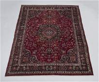 Hand knotted Persian Mashad wool carpet, 10 x 13