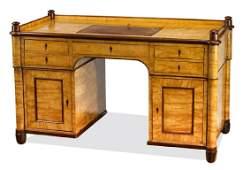 19th c. Danish Biedermeier executive desk