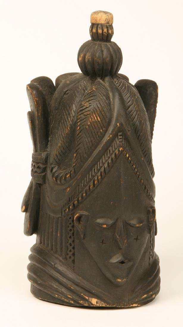 Hand carved sculpture from eastern Africa