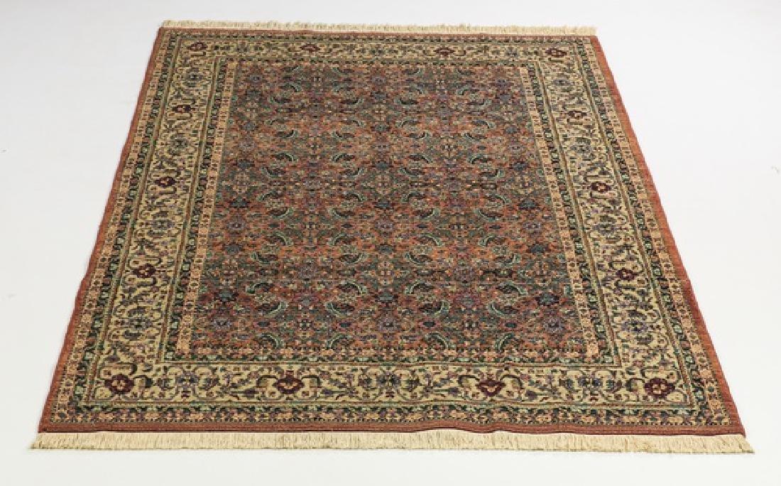 Karastan style carpet with Tabriz design