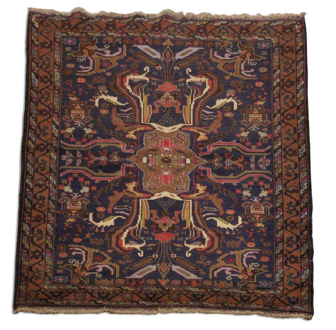 Baluch finely knotted all wool rug, 3 x 5