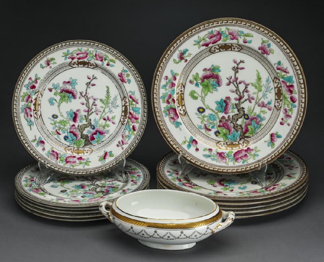 (12) Royal Doulton porcelain 'Indian Tree' plates