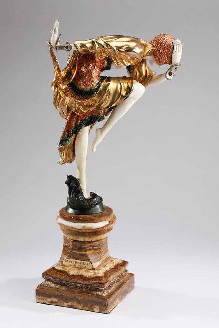"Orientalist bronze 'Danseuse D'Ankara', 25""h"