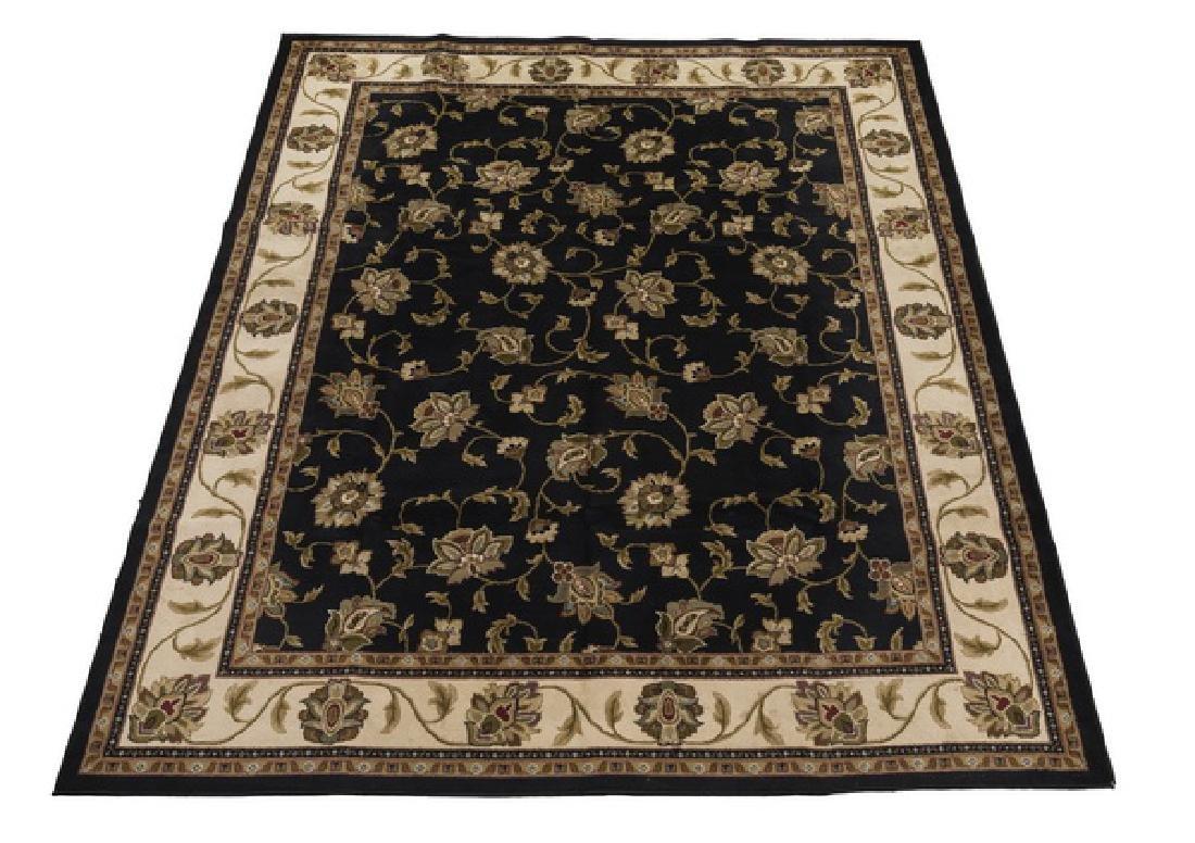Persian style machine tufted carpet, 13 x 10