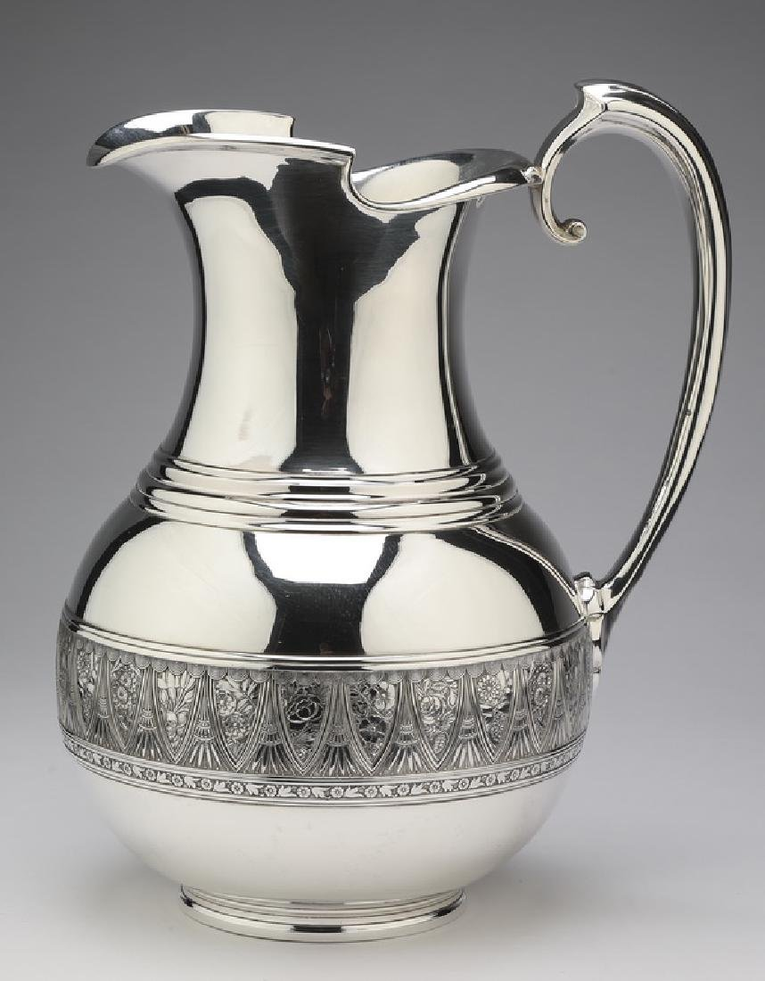 19th c. Gorham sterling Aesthetic Movement pitcher