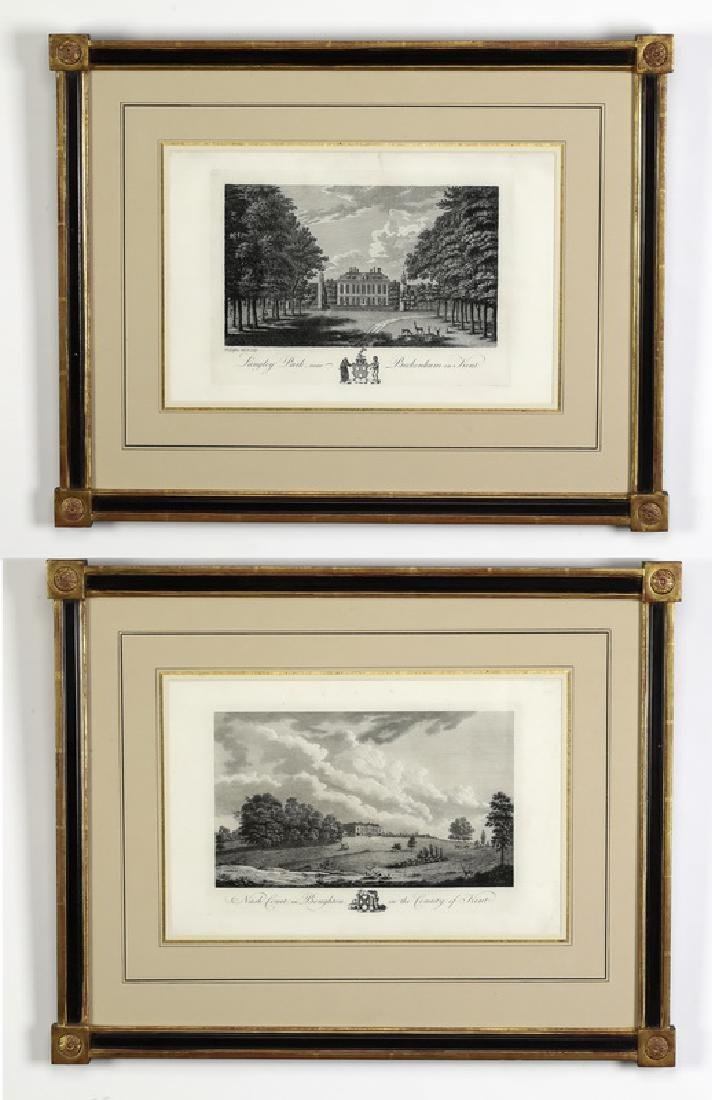 (2) Late 18th c. English engravings of Kent