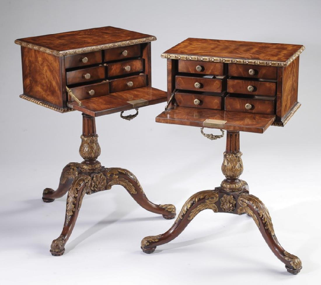 (2) Theodore Alexander side tables - 2