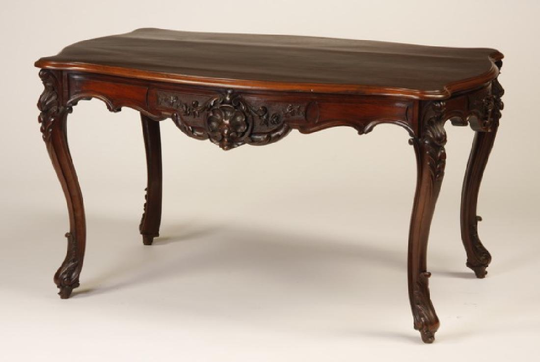 19th c. French rosewood center table