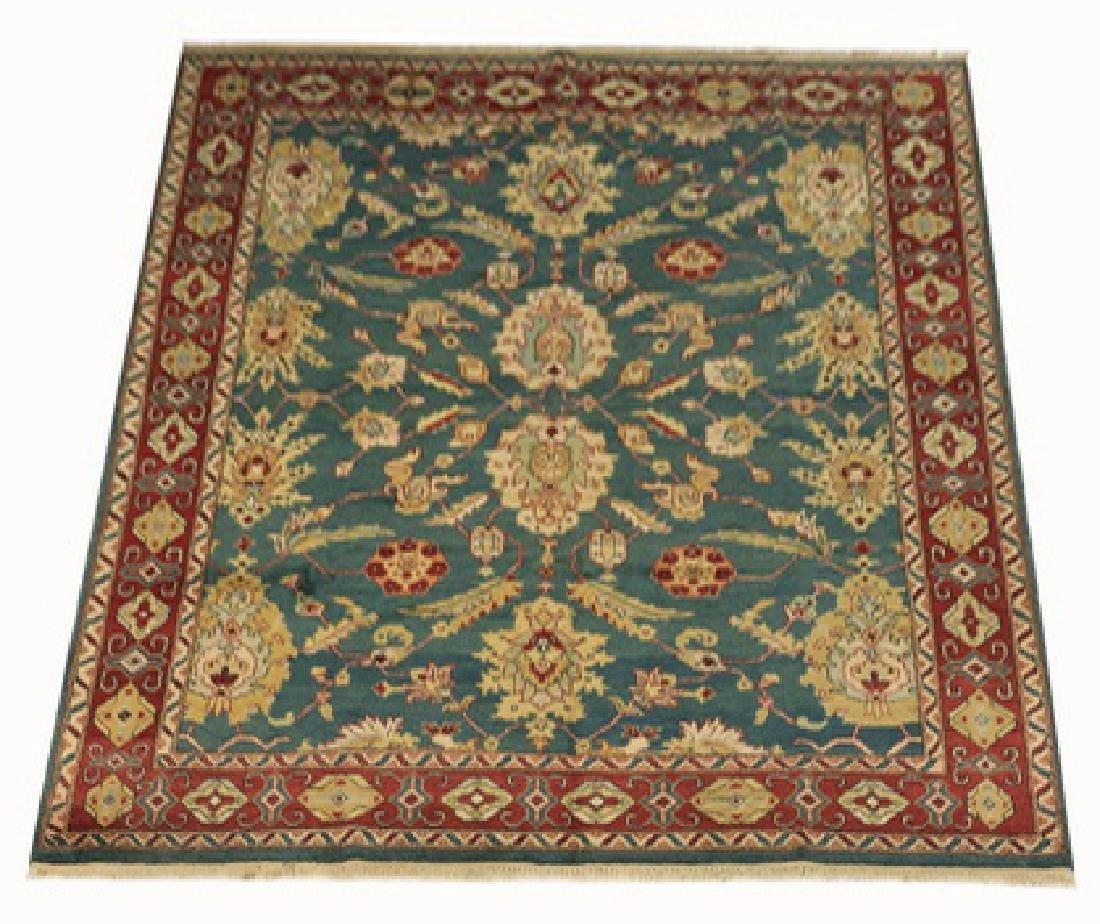 Hand knotted Sino Tabriz rug w/palmettes, 10' x 8'
