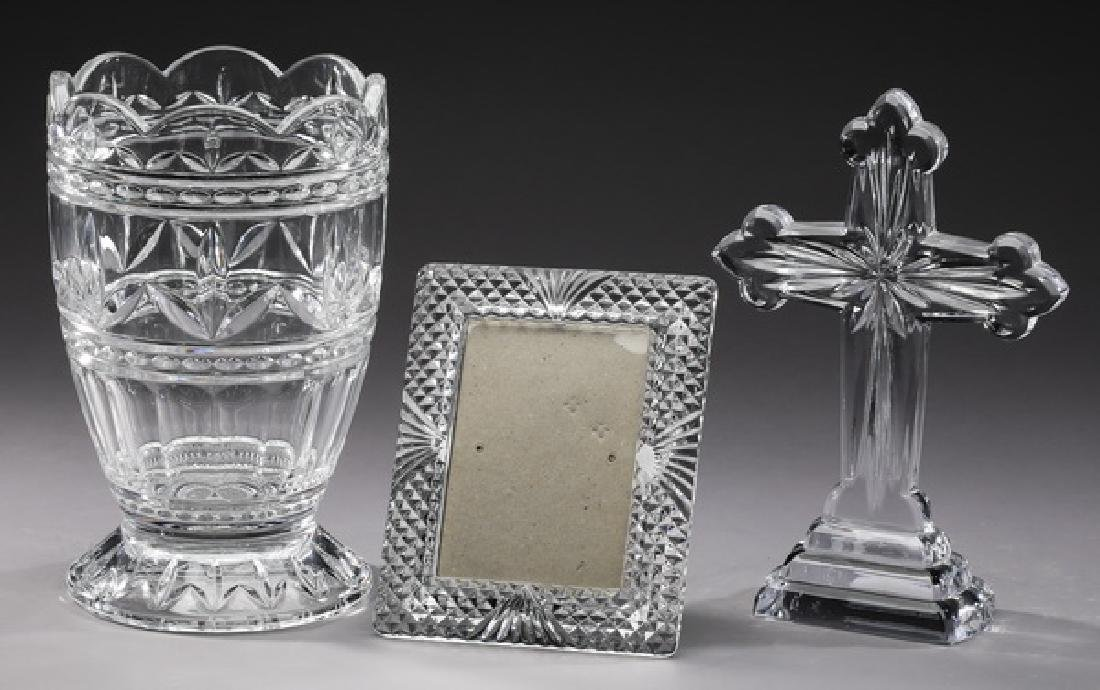 3 Pc. Continental crystal decorative accessories
