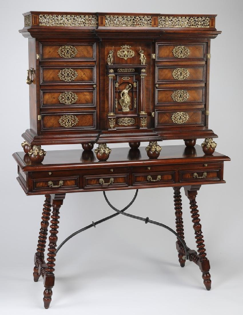 "Theodore Alexander 'Althorp' cabinet on stand, 78""h"