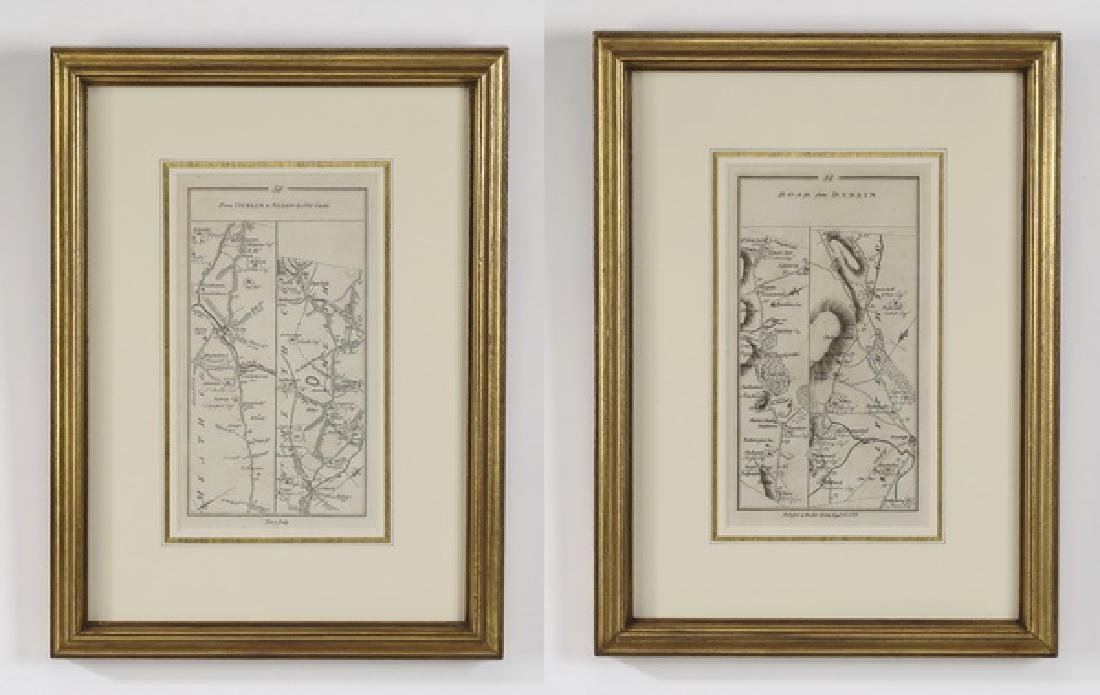 (2) Maps of the roads in Ireland c. 1778