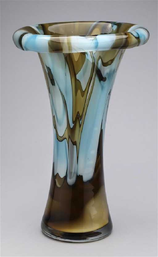 Evolution By Waterford Art Glass Vase