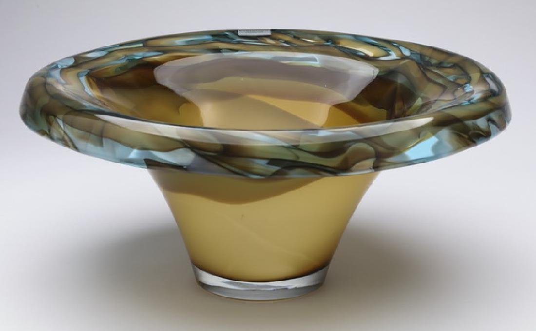 Evolution by Waterford, art glass bowl