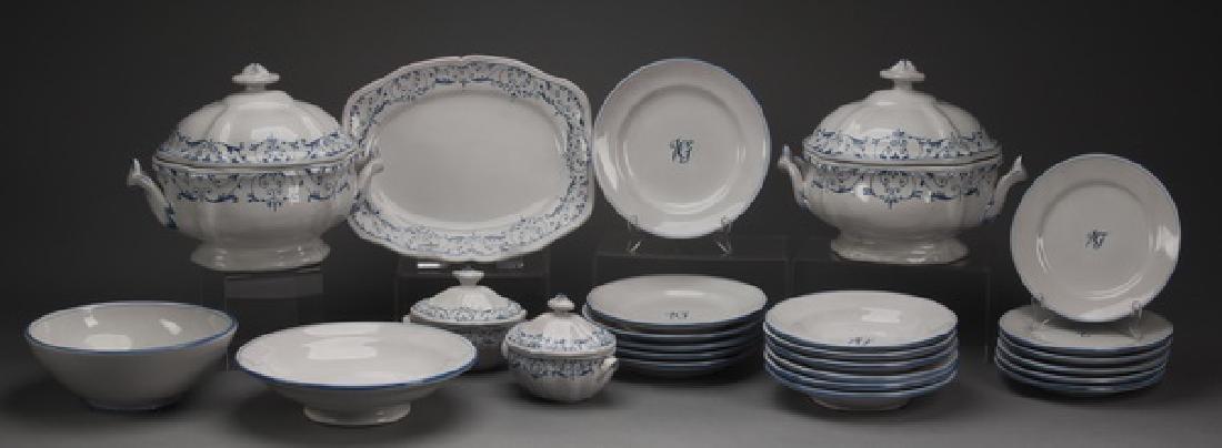 25-Piece Vincent Garnier Paris ironstone dinnerware