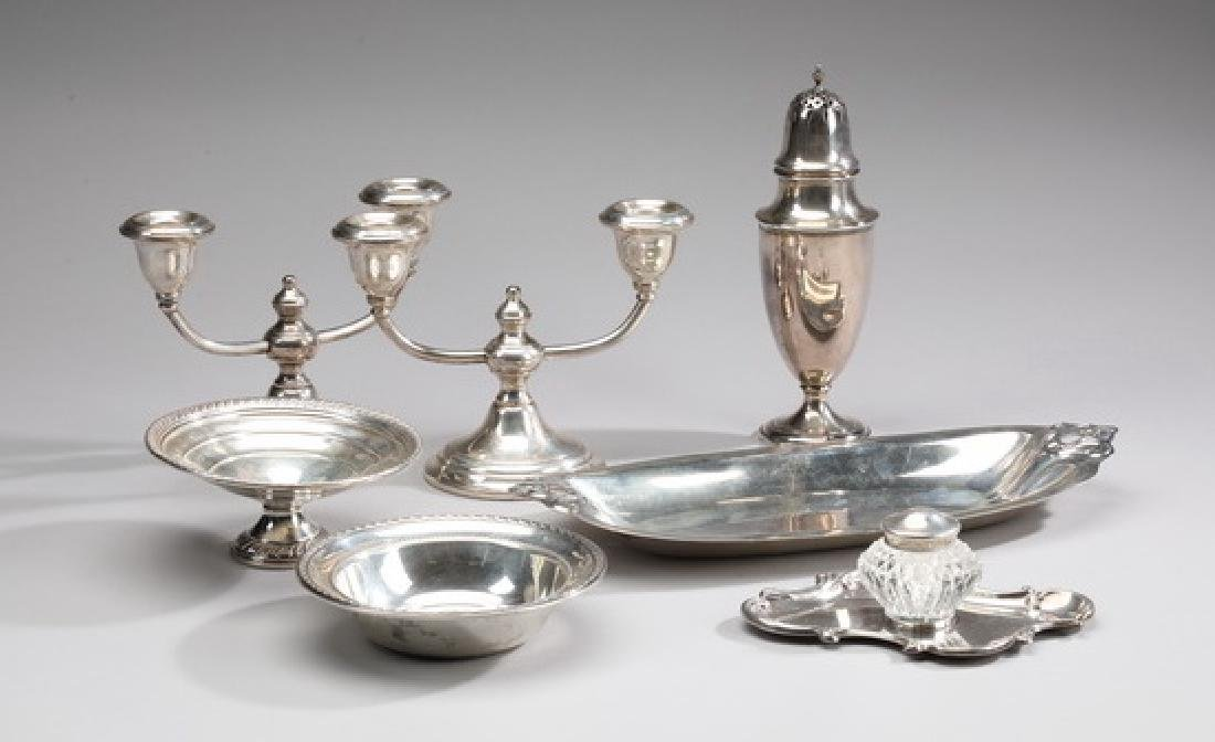 (7) Sterling table articles by various makers