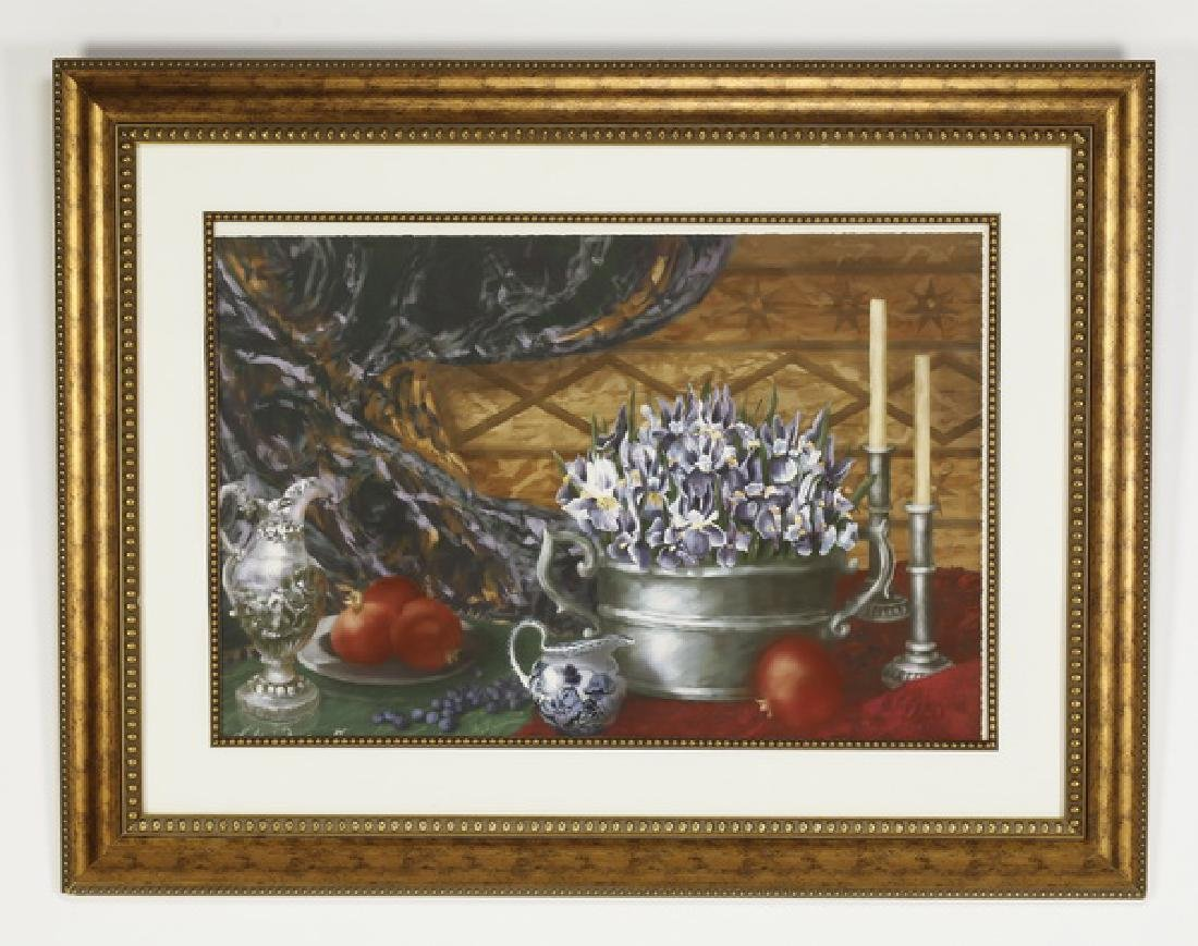 K. Haines Dench signed giclee on paper of still life