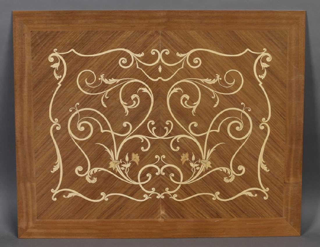 Italian marquetry inlaid panel in the Louis XV taste