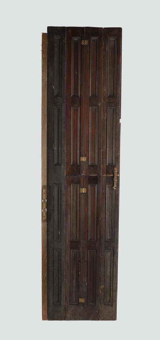 Early 20th c. hinged panel architectural element