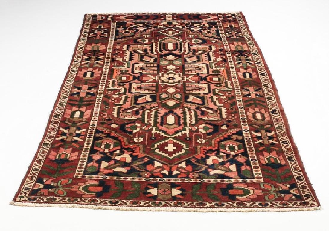 Hand knotted Sino-Heriz wool rug, 5 x 10
