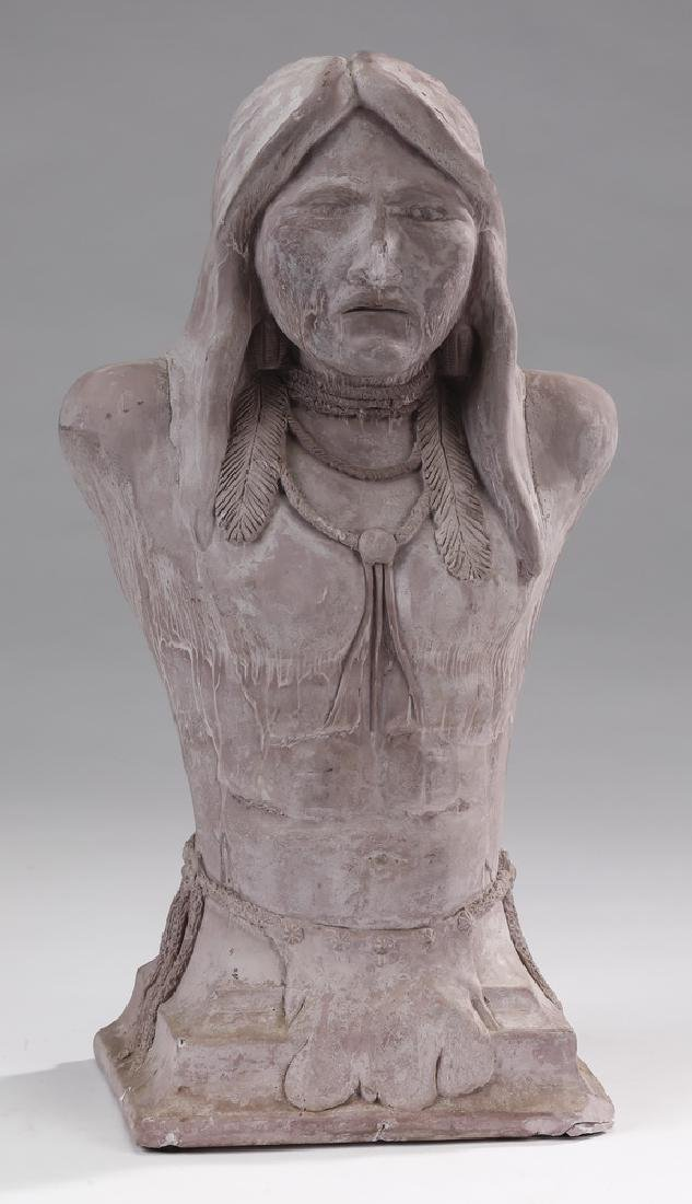Silas Smith, 'The Walker' Native American sculpture