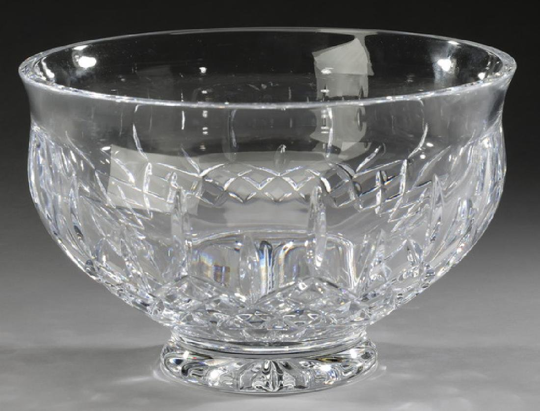 "Waterford crystal 'Lismore' bowl, 10""dia"