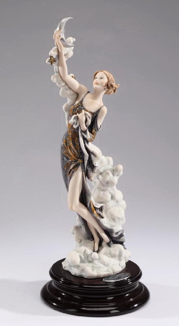 Giuseppe Armani ltd edition sculpture, 'Silver Moon'