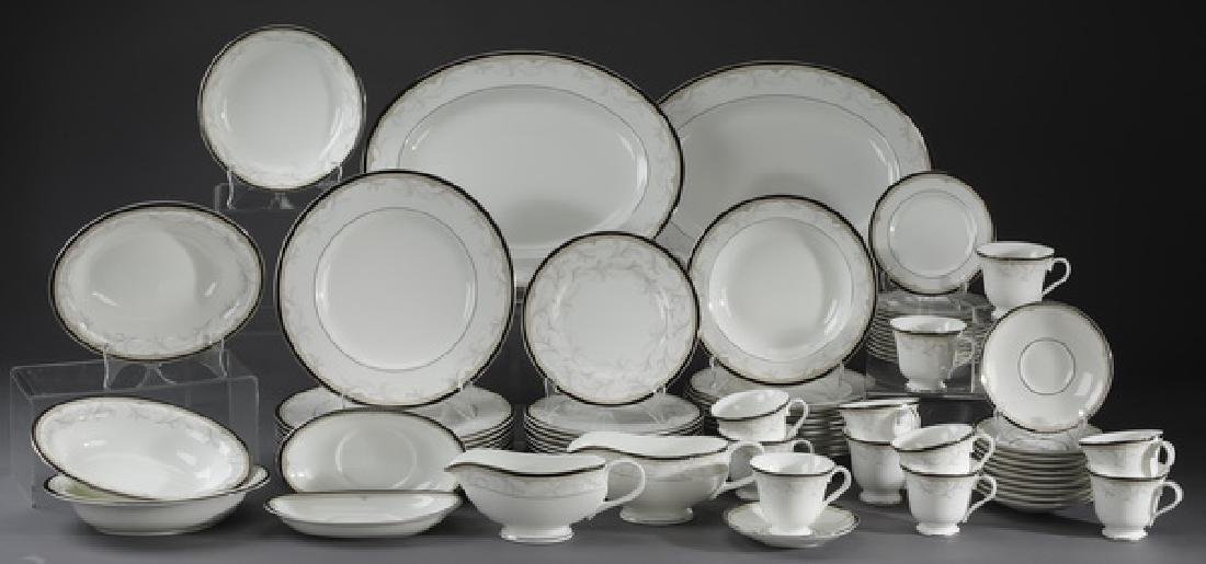 63 Pc Waterford porcelain dinner service in 'Brocade'