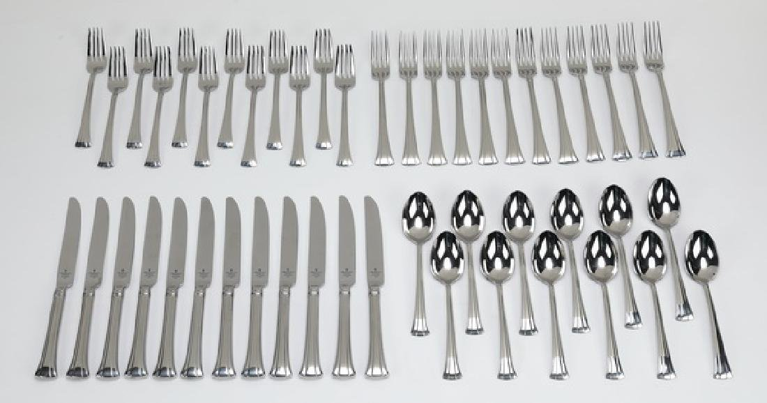 48 Pc Waterford stainless steel 'Mont Clare' flatware