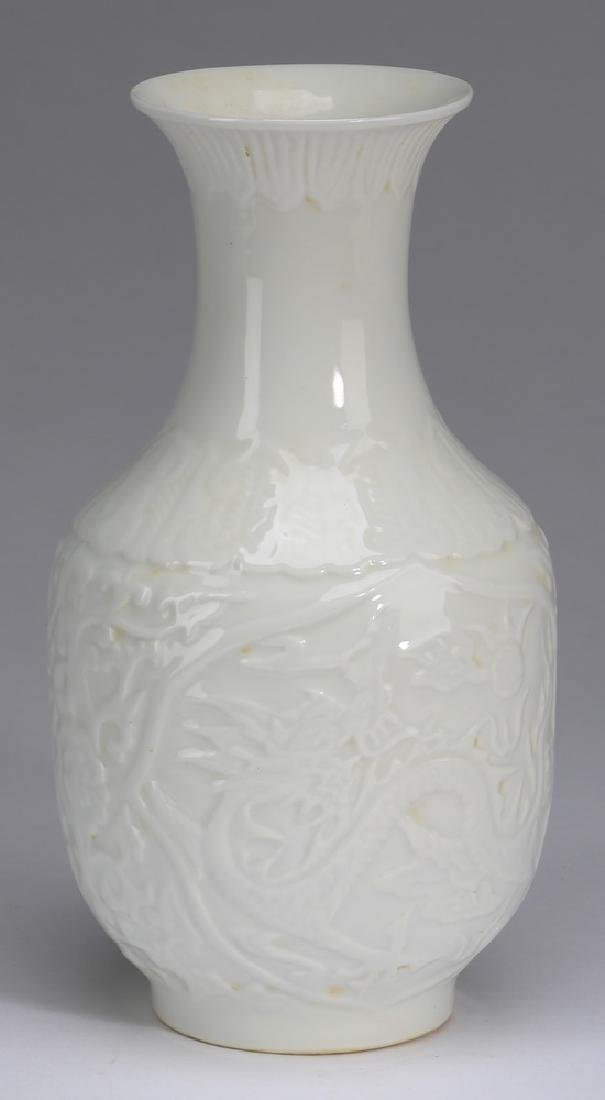 """Finely potted Chinese baluster vase, 9""""h"""