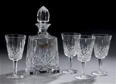 5 Pcs Waterford crystal Lismore bar ware