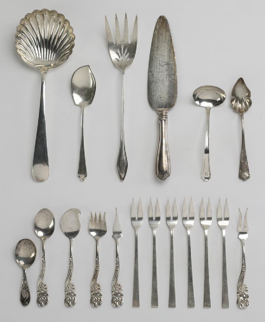 (18) Pcs, sterling flatware incld. Whiting Marquis