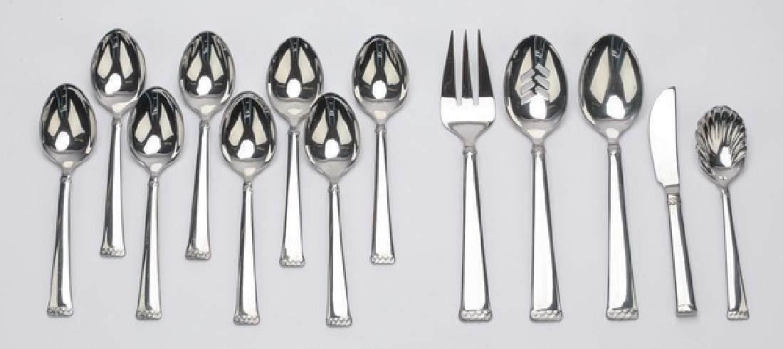 13 Pc. Waterford Stainless 'Celtic Braid' flatware