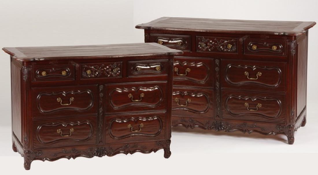 (2) Custom crafted chests, Martin Van Court Studios