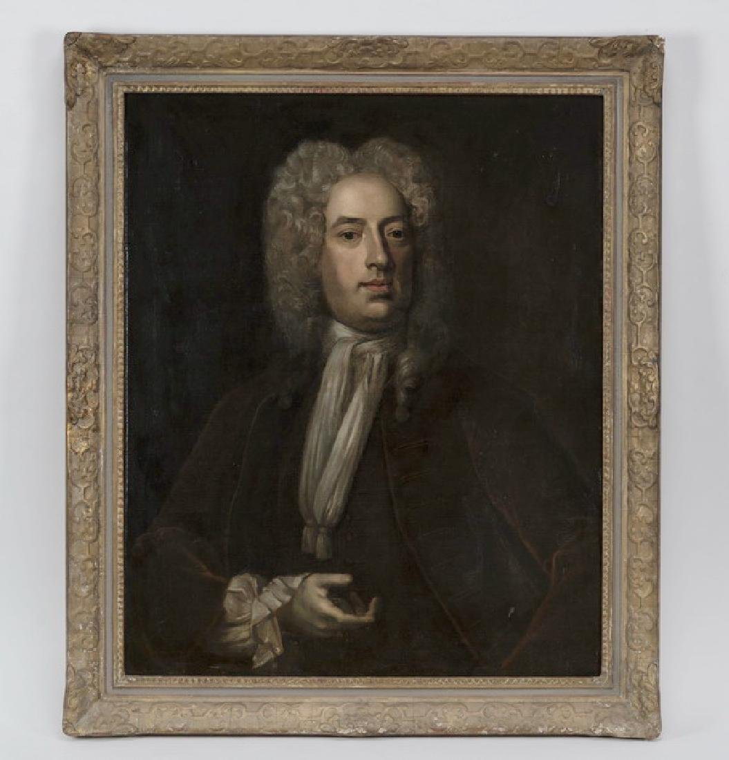 18th c. English O/c of Sir John Rogers, 2nd Baronet