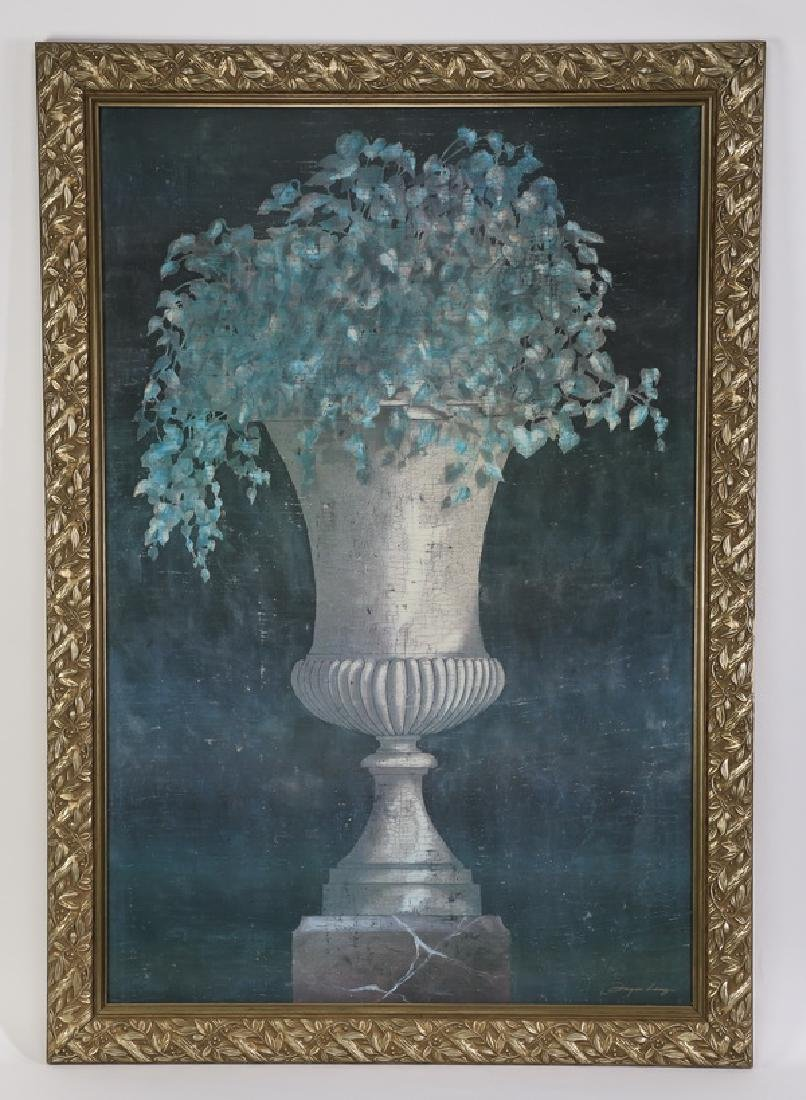 """Oversized Neoclassical style giclee, 68""""h"""