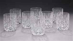 8 Waterford crystal Lismore 7 oz tumblers