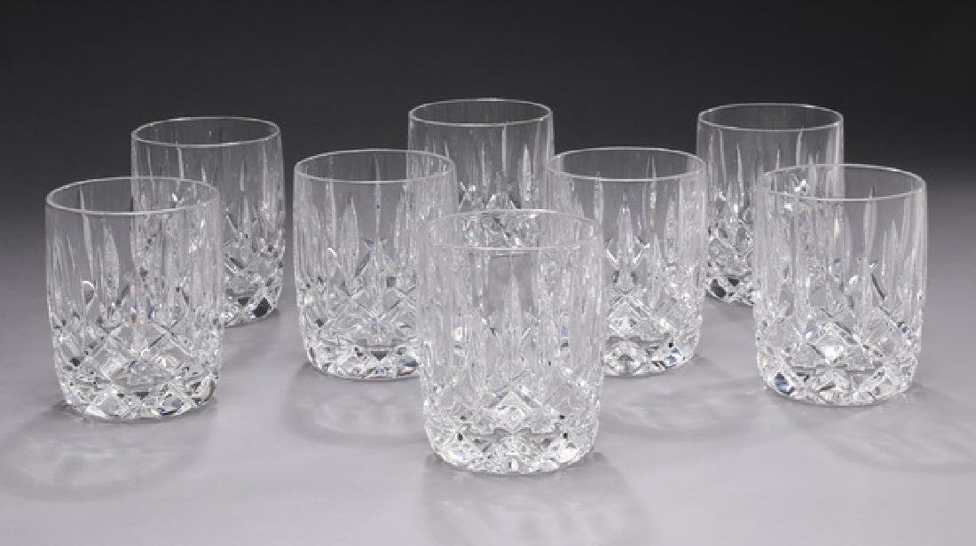 (8) Waterford crystal 'Lismore' 7 oz. tumblers