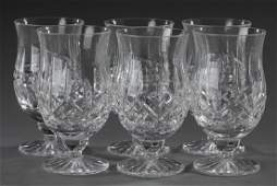 6 Waterford crystal punch goblets