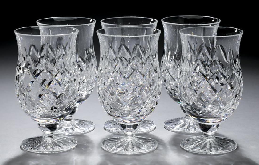 (6) Waterford crystal punch goblets