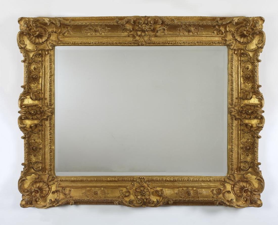 Carver's Guild gilt wood Louis XV style  mirror