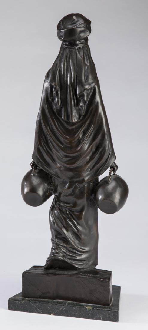 "D. Alonzo Orientalist bronze 'The Water Carrier' 21""h - 2"