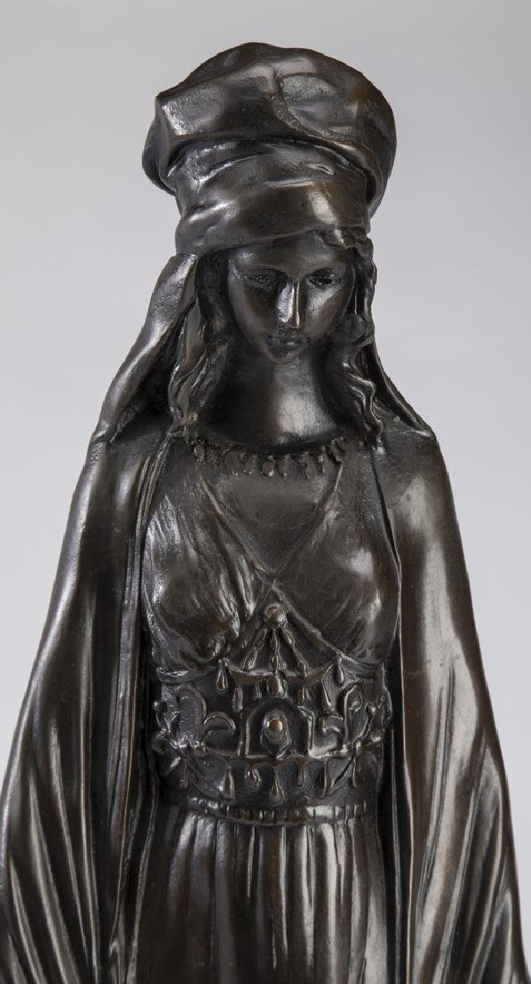 "D. Alonzo Orientalist bronze 'The Water Carrier' 21""h - 3"