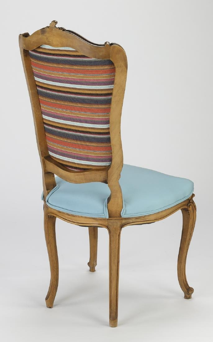 (6) 19th c. Rococo Revival walnut dining chairs - 3