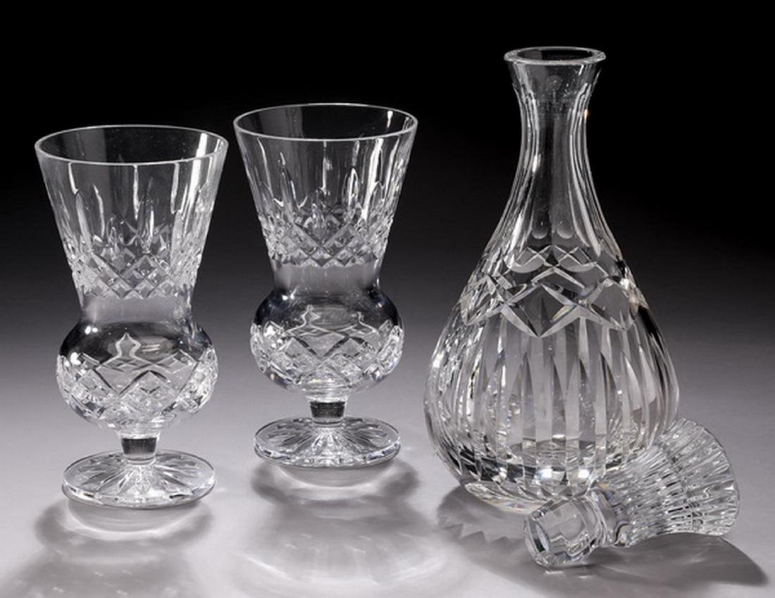 3 pcs. Waterford crystal table accessories - 2
