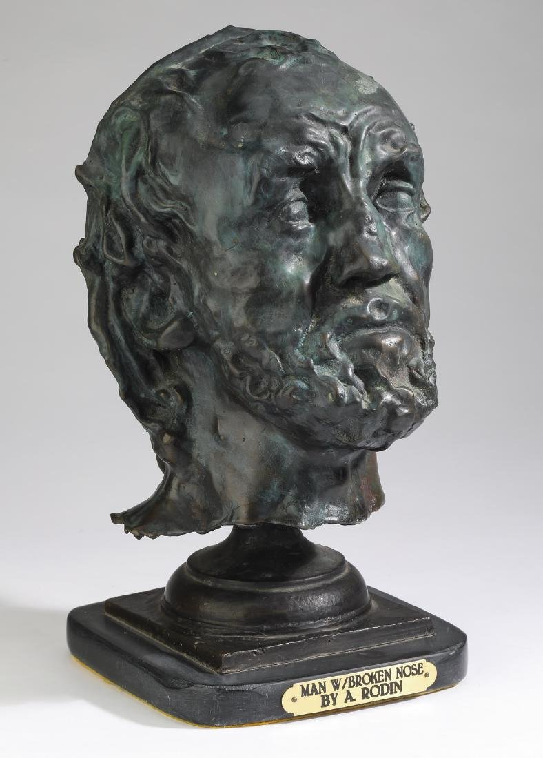 After Auguste Rodin, 'Man With a Broken Nose'