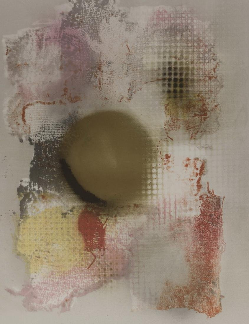 Laszlo Dus abstract lithograph, signed, numbered - 2