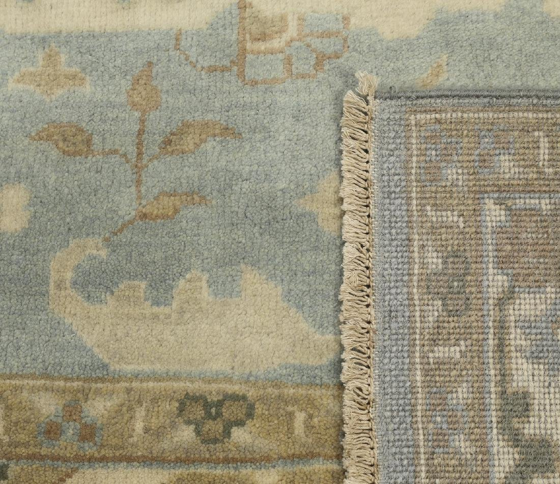 Hand knotted wool Indo-Oushak carpet, 10 x 8 - 4